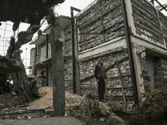 Artist Brings Beauty To War-Damaged Gaza Home