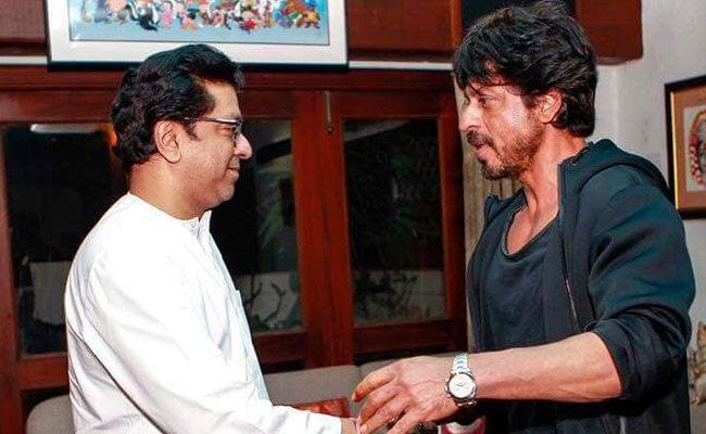 शाहरुख खान ने फिल्म 'रईस' रिलीज होने से पहले मनसे प्रमुख राज ठाकरे से मुलाकात की