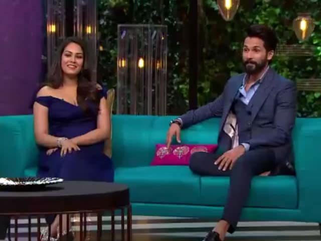 Koffee With Karan 5: Shahid Kapoor, Wife Mira And The Ex-Factor
