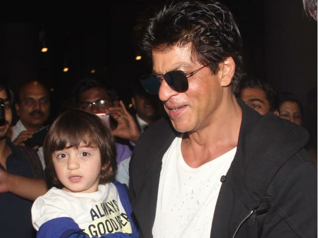 Here's How Shah Rukh Khan's Son AbRam Is Prepping For Christmas