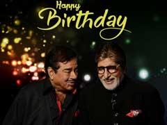 अमिताभ बच्चन ने शत्रुघ्न सिन्हा को दी जन्मदिन की बधाई