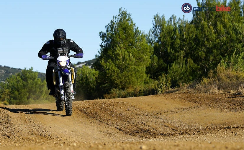 Sherco Enduro Motorcycle Riding Experience With TVS Racing