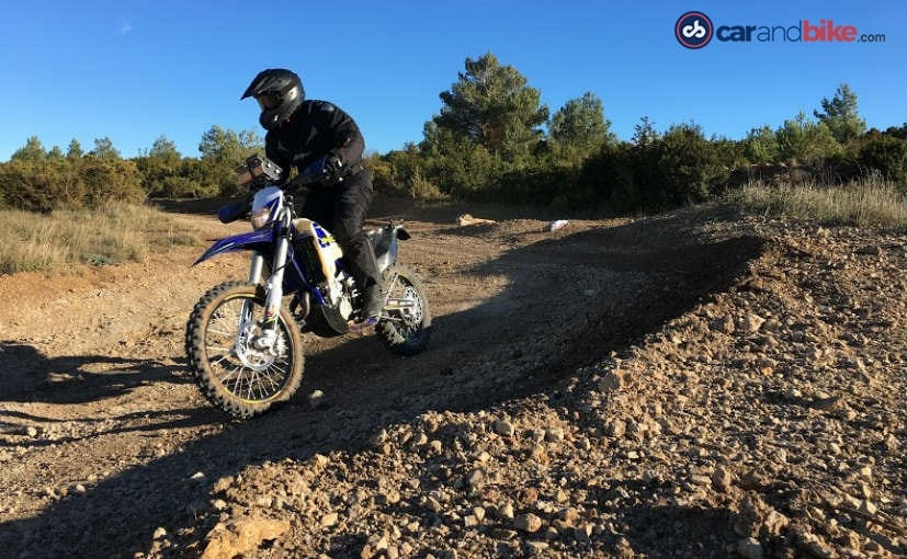 Sherco 450 SEF-R Enduro in action