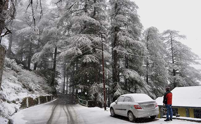 Roads To Shimla, Manali Re-Open After Heavy Snowfall