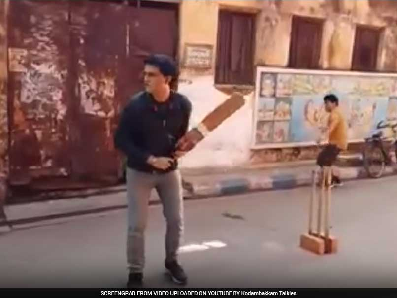 Sourav Ganguly's Dadagiri With Bat Intact, This Time in Gully Cricket