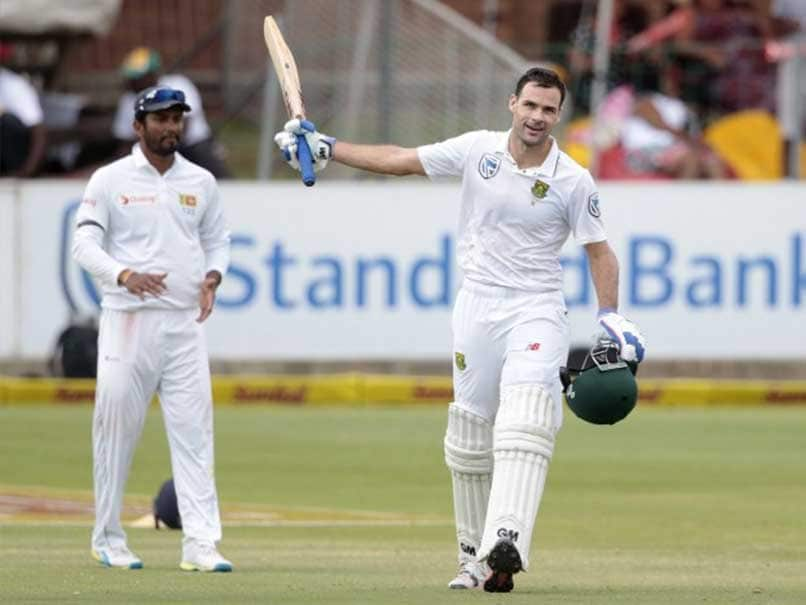 1st Test: Stephen Cook Hits Century as South Africa Dominate