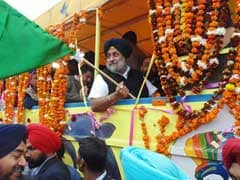 Sukhbir Singh Badal Launches Punjab's First Amphibious Bus