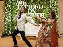 Kishwer Merchant, Suyyash Rai Post Video From The Dancefloor Of Their Reception