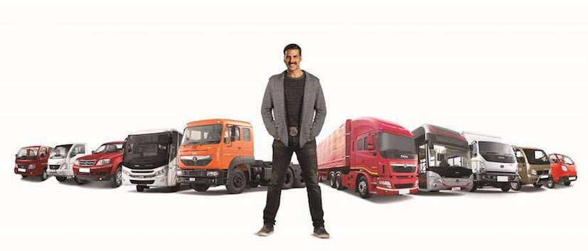 Tata Motors Appoints Actor Akshay Kumar As Brand