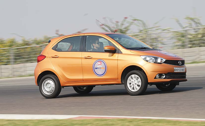 Tata Tiago Is NDTV Entry Hatchback Of The Year 2017