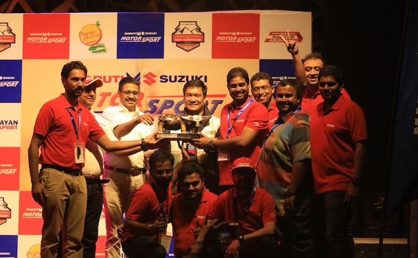 Team Maruti at Maruti Suzuki Rally of Arunachal