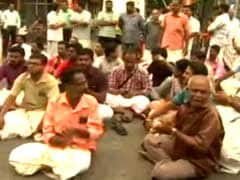 Protests At Iconic Sree Padmanabhaswamy Temple As Women In Salwars Enter For First Time