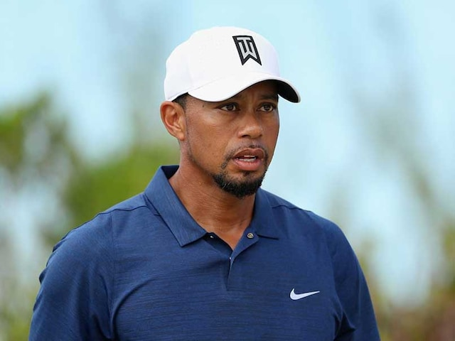 Golfs Tiger Woods Hits The Links With Donald Trump