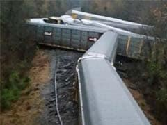Train Carrying BMWs Derails, 97 Vehicles Damaged