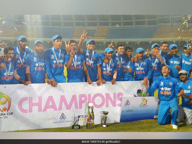 India beat Sri Lanka by 34 runs In Final, lift U-19 Asia Cup for third time in row