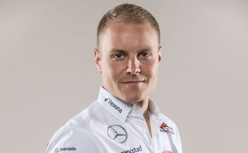 Bottas was signed by Mercedes at the 11th hour for this season