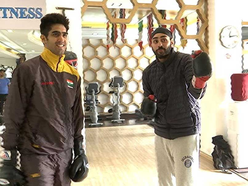 Blog: Three Days Before Big Fight, How Vijender Singh Trains
