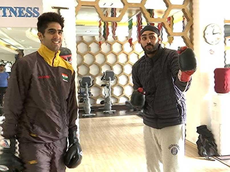 Blog: Three Days Before Big Fight, How Vijender Singh Trains