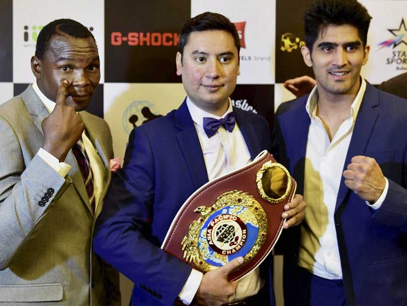 'Stronger, Hungrier' Vijender Singh Wants To Beat Francis Cheka For Country
