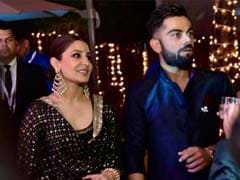 Virat Kohli Matches Steps With Anushka Sharma At Yuvraj Singh's Wedding