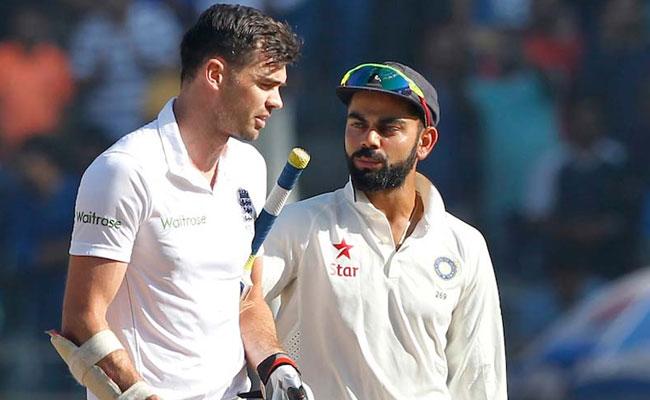कोहली की बल्लेबाजी पर एंडरसन ने उठाई उंगली, विराट के बचपन के कोच ने दिया ये जवाब