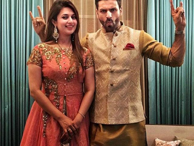 Divyanka Tripathi's Private Birthday Party For 2 With Husband Vivek Dahiya