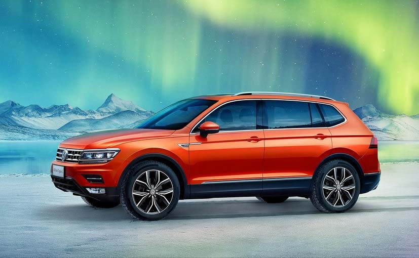 volkswagen tiguan with longer wheelbase revealed will make public debut in january 2017 ndtv. Black Bedroom Furniture Sets. Home Design Ideas