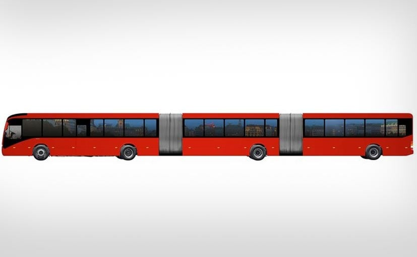Volvo Launches Biggest Bus In The World