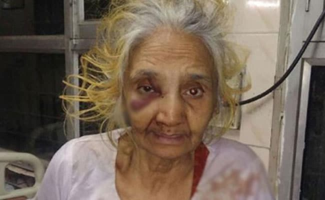 70-Year-Old Woman Brutally Thrashed By Son In New Delhi