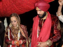 Hazel Keech And Yuvraj Singh <I>Ki Shaadi</i>. See Pics From Wedding