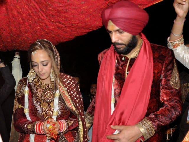 Hazel Keech And Yuvraj Singh Ki Shaadi. See Pics From Wedding