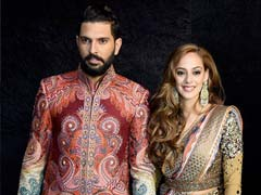 Yuvraj Singh-Hazel Keech Wedding: MS Dhoni, Sourav Ganguly Attend Reception