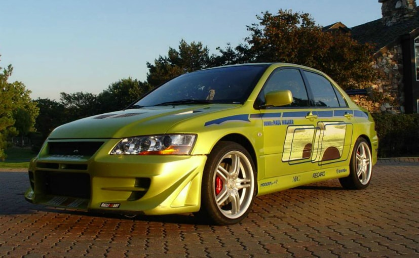 2 fast 2 furious lancer evo driven by paul walker