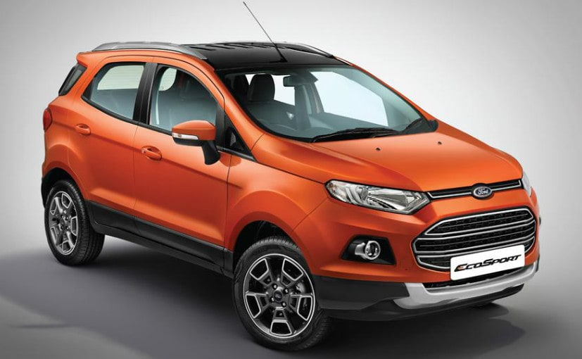 GST Effect on Car - 2017 ford ecosport platinum