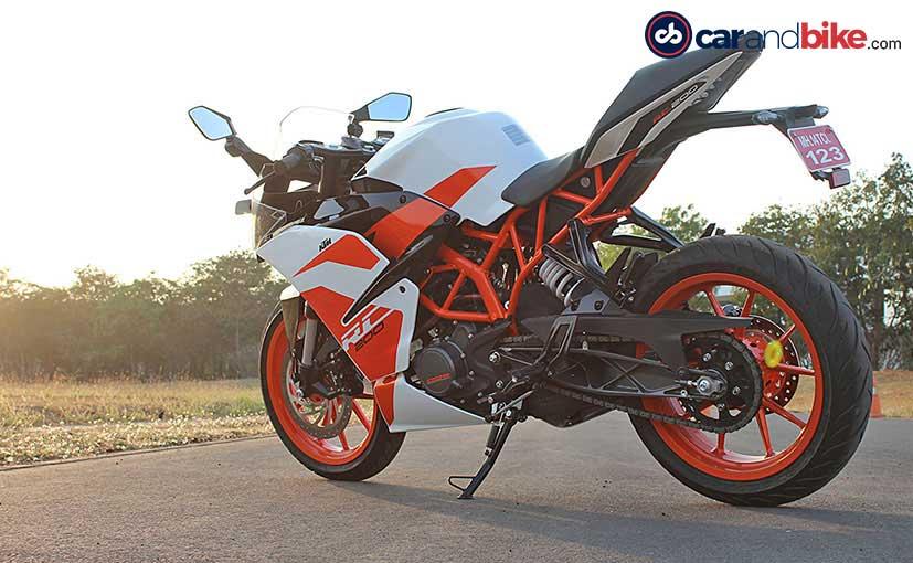 2017 Ktm Rc 200 First Ride Review Ndtv Carandbike