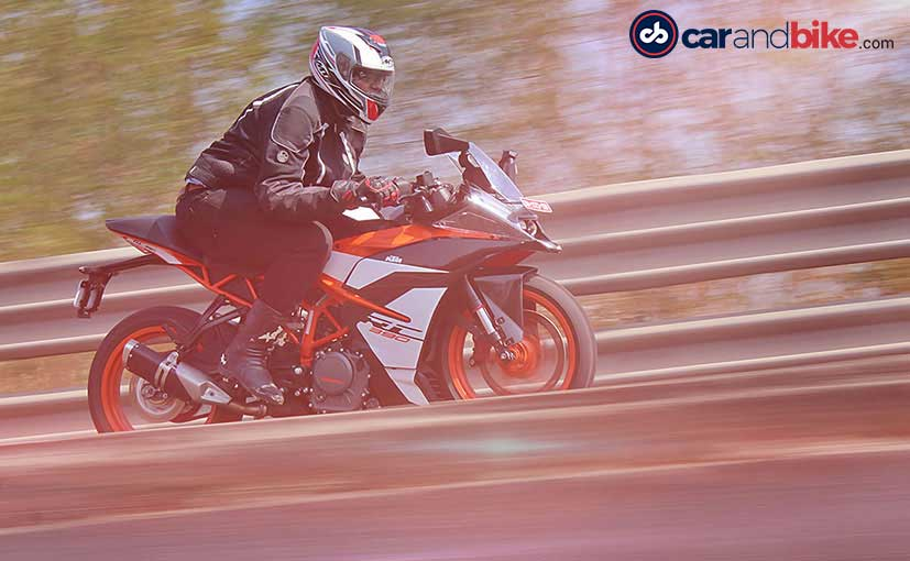 2017 KTM RC 390 First Ride Review
