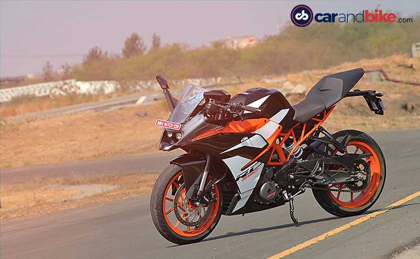 2017 ktm rc 390 first ride review ndtv carandbike. Black Bedroom Furniture Sets. Home Design Ideas