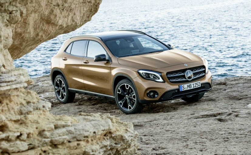 Mercedes-Benz GLA Facelift To Be Launched In India Next Month