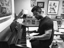 Aamir Khan Plays Piano In Stunning Pics By <i>Dangal</i> Actress Fatima Sana Shaikh