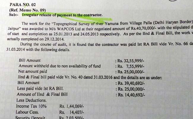 aap govt audit report