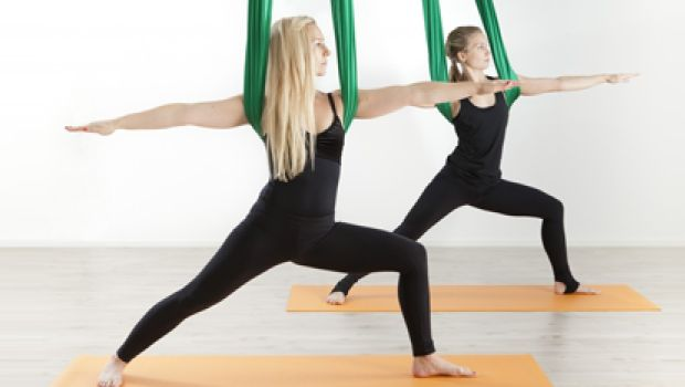 Aerial Yoga: Counter Gravity, Enhance Endurance and Tone Up!