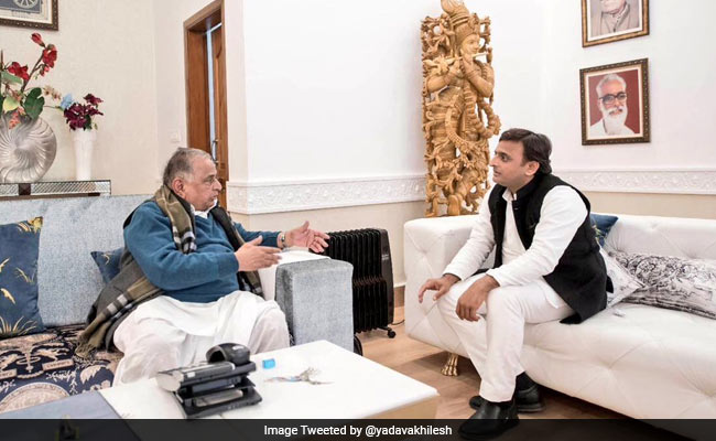 Akhiesh Yadav, Mulayam Plan Library, Guest House In Posh Lucknow Area