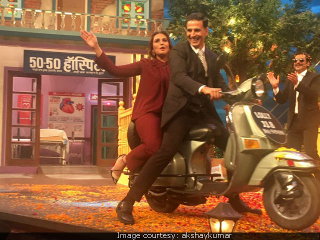 Jolly LLB 2: Akshay Kumar, Huma Qureshi Have A 'Jolly' Time On The Kapil Sharma Show