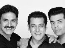 Salman Khan To Co-Produce Akshay Kumar's Film With Karan Johar