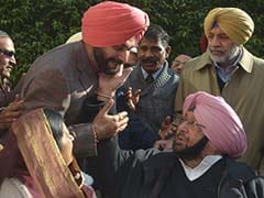"""A Happy Ending"": Minister After Navjot Sidhu Clarifies ""Captain"" Remark"