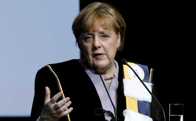 Chancellor Angela Merkel To Meet US President Donald Trump With German Industry Giants