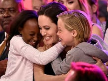 Angelina Jolie And Children Celebrate New Year Minus Brad Pitt. See Pics