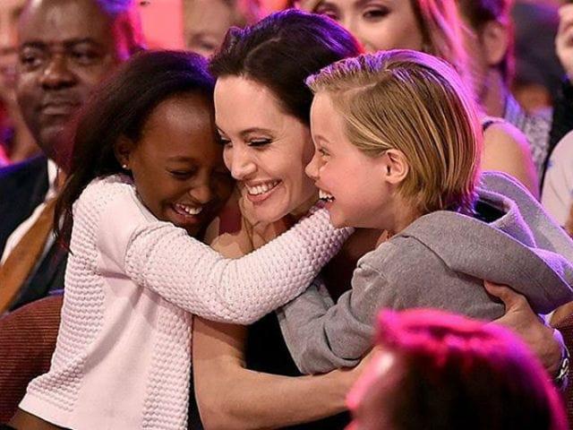 Angelina Jolie And Children Celebrate New Year Minus Brad Pitt. See Pics