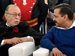 Lt Governor To Meet Arvind Kejriwal Today To Discuss Delhi Verdict