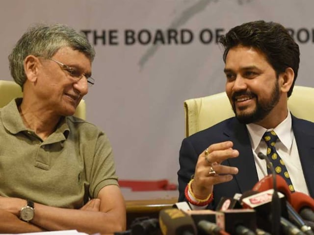 In BCCI vs Lodha Panel, Board Bosses Anurag Thakur, Ajay Shirke Removed by Supreme Court